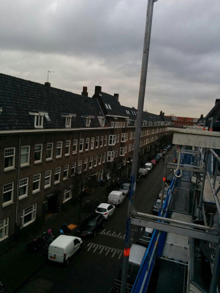 Amazonenstraat 65 t/m 71 en Jasonstraat 7 en 9. Opdracht: bouwvoorbereiding en bouwbegeleiding renovatie/grootonderhoud